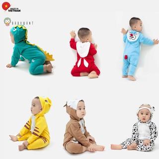 Body mũ thú dài tay chất lượng cao cho bé từ 3 đến 13kg BABYWANT