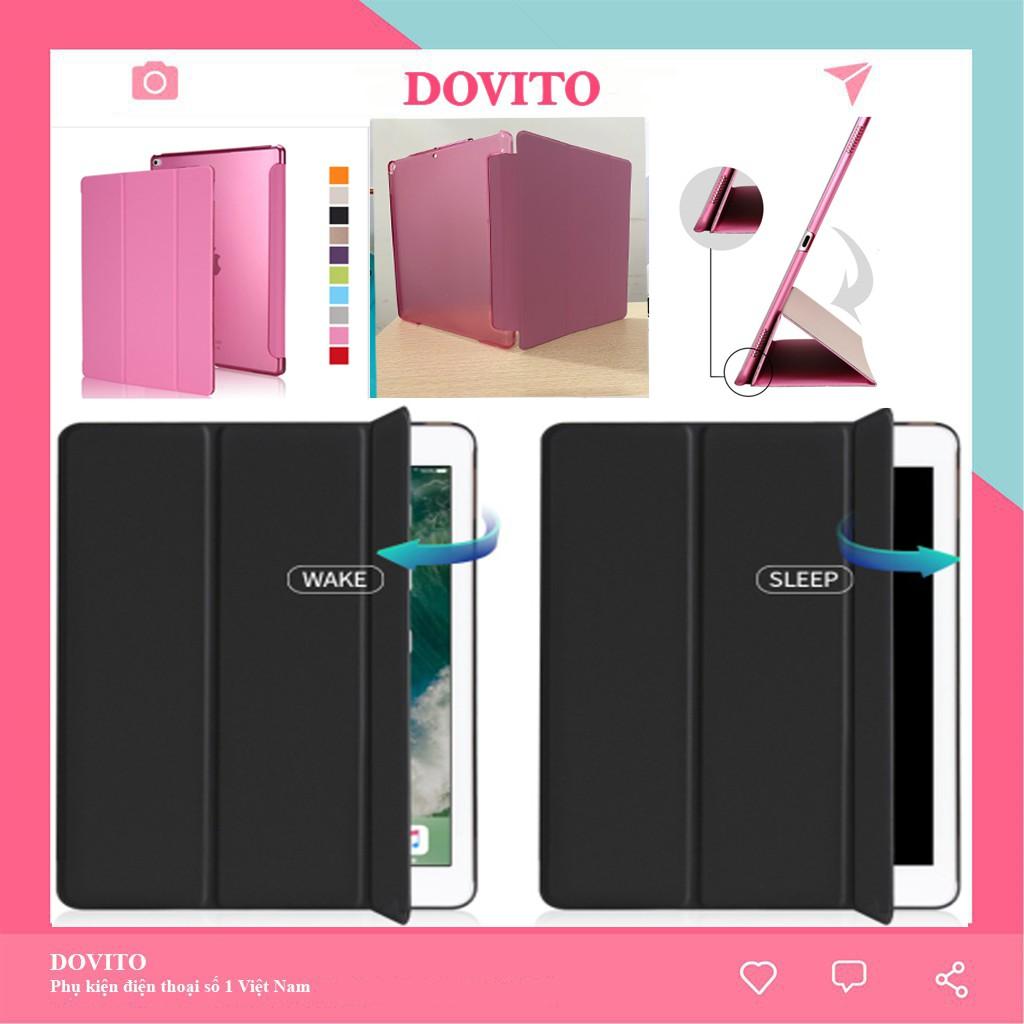 Bao da ipad Dovito trong mờ đẹp đa màu sắc ipad 10.2 inch/ pro 10.5 inch