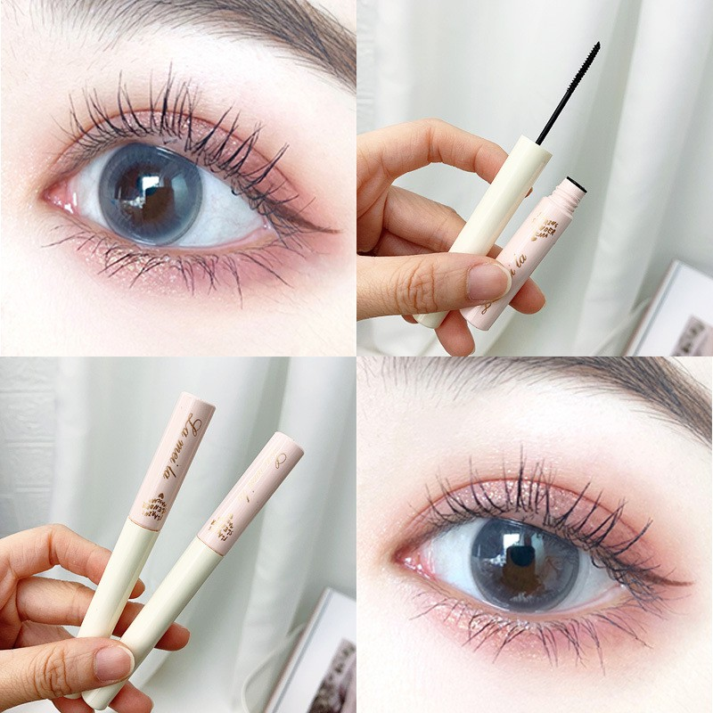 [Mẫu mới]🌈🥑🍒 Mi Mascara Siêu Mảnh Và Tơi Mi Lameila 779 Skinny Microcara Vỏ Hồng