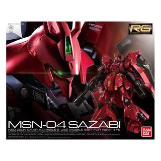 Mô hình đồ chơi lắp ráp Gundam Sazabi RG (Bandai)