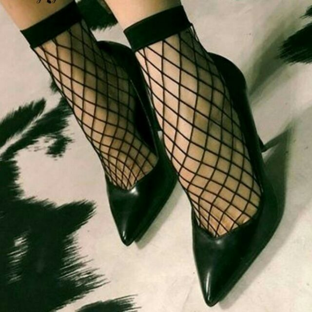 Tất vớ nữ lưới cổ chân mang giày bot co dãn thoải mái (MS 13001) Anna Shop