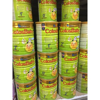 Sữa ColosBaby Gold - Số 0,1,2 Hộp 800g thumbnail