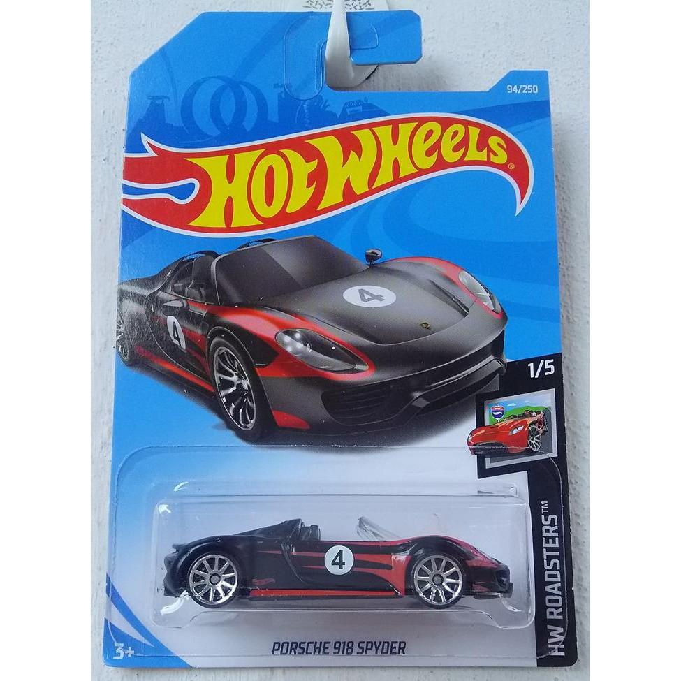 Xe mô hình Hot Wheels Porsche 918 Spyder FYD27