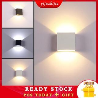 7W 10W LED Đèn tường acrylic Đèn trang trí nhà cửa hiện đại Đèn trong nhà Phòng khách trong nhà Đèn phòng ngủ AC 85-265V