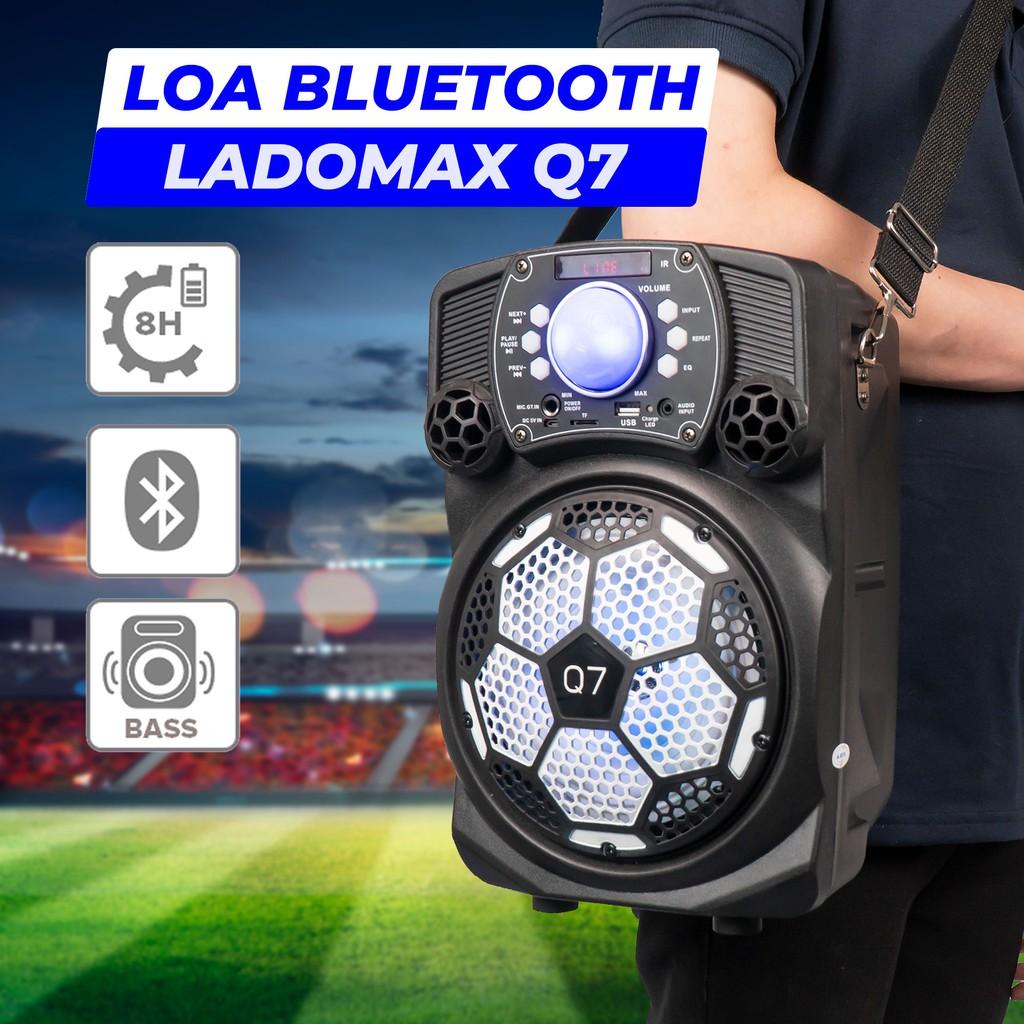 Loa kéo Q7 loại 1.6 tấc. Loa thùng kéo Karaoke Chất lượng cao cấp Âm thanh chân thật Hàng Chính hãng BH 1 năm