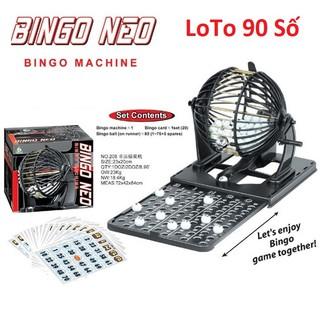 Bộ Đồ Chơi Lô Tô Bingo Neo