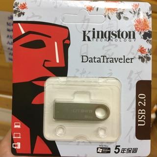 [Mã ELFLASH5 giảm 20K đơn 50K] USB 2.0 kingston dung lượng 8GB - hàng chính hãng