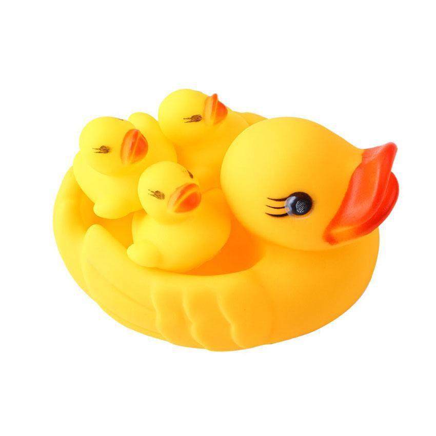 Đàn vịt thả bồn tắm đáng yêu cho bé