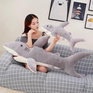 cá mập nhồi bông vải mềm