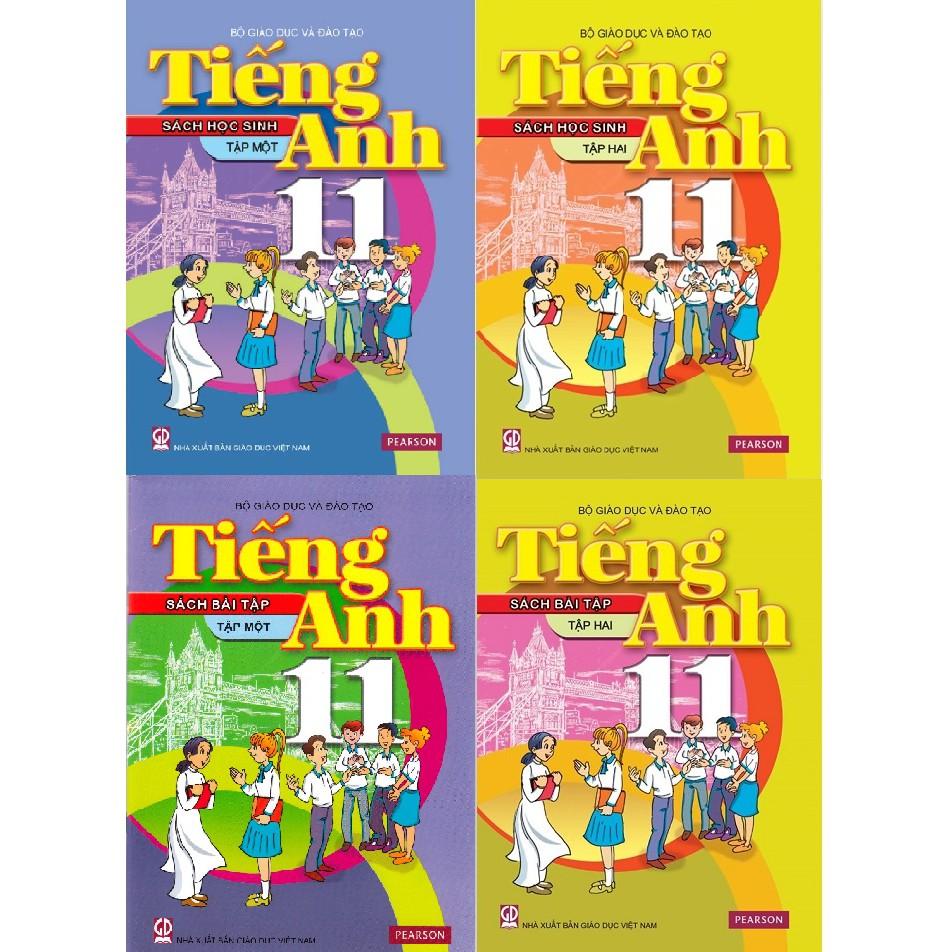 Sách - Tiếng Anh lớp 11 - trọn bộ 4 quyển (không kèm đĩa)