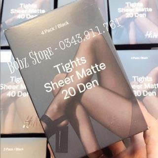 QUẦN TẤT SHEER H&M 20 DENIER thumbnail