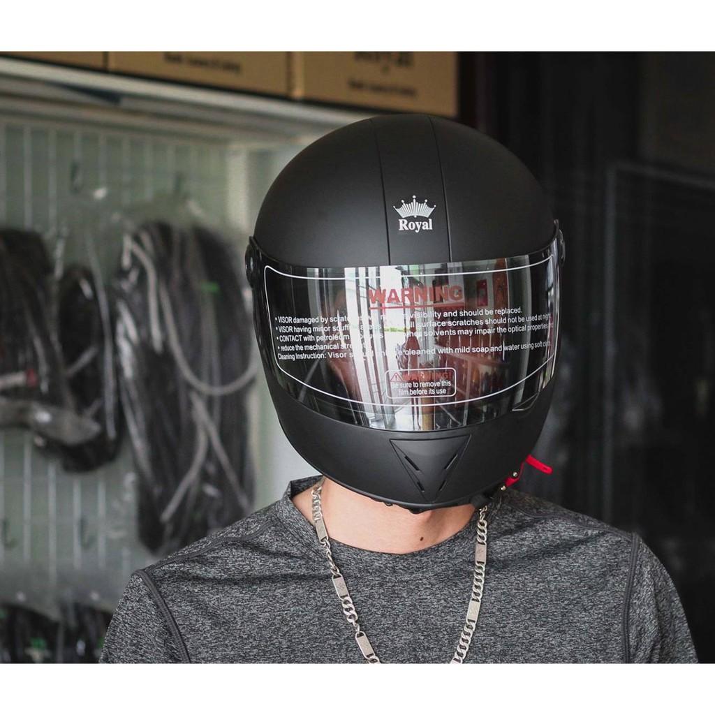 Mũ bảo hiểm fullface Royal M02 có cằm