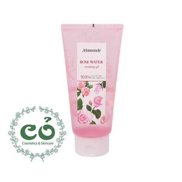 Gel dưỡng hoa hồng Mamonde Rose Water Soothing Gel