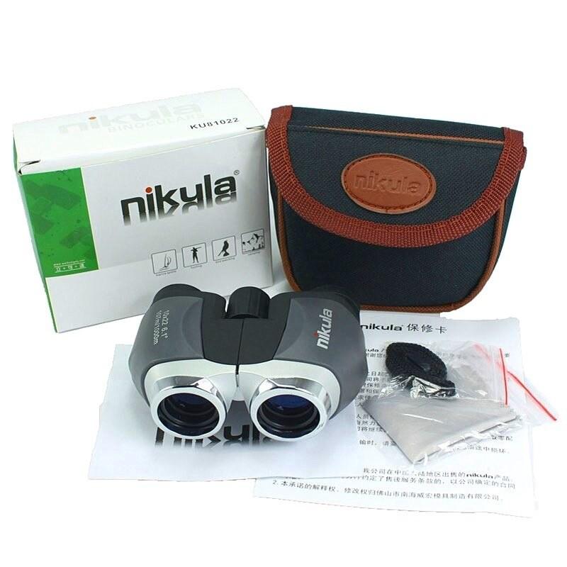 Ống nhòm 2 mắt Nikula 10x22 cao cấp, giá rẻ - Ống nhòm chuyên dụng đi săn, du lich, dã ngoại