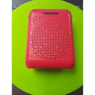 Takstar E220 đỏ- Máy Trợ Giảng FM, Bluetooth, Loa Công Suất 8w, Thời Lượng Pin 10h
