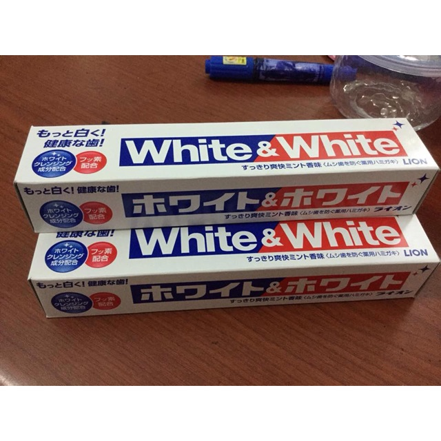 Kem đánh răng trắng răng 150gr Nhật
