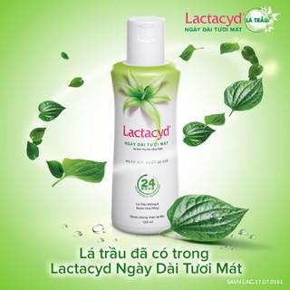 Dung dịch vệ sinh phụ nữ Lactacyd ngày dài tươi mát tính chất lá trầu không và nước hoa hồng 150ml Cn138 3