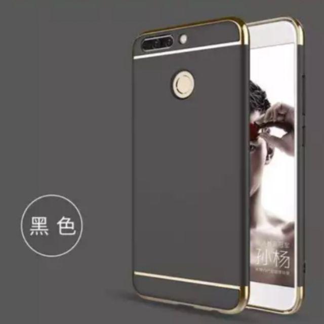 Bộ ốp lưng + kính cường lực Huawei Y7 Pro 2018 - Nhiều màu