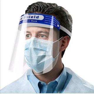 [ Chuyên Sỉ ] Tấm chắn chống giọt bắn trong suốt nhựa PET – Face Shield Mask