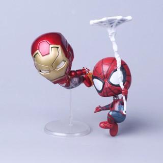 [ Thanh lý đón tết ] Mô hình Spider-Man và Iron Man chib