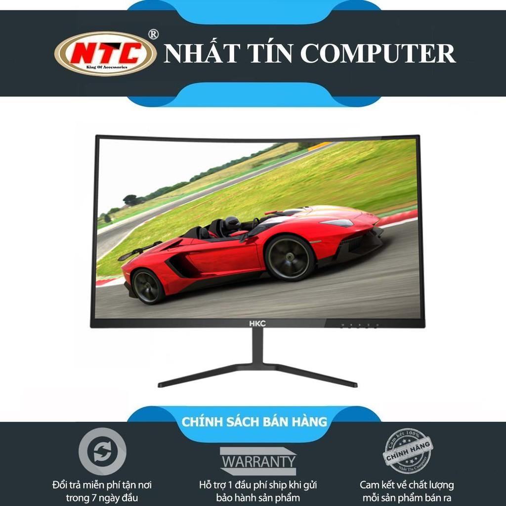 """Màn hình máy tính HKC M27A9X 27"""" FHD màn cong Full viền - kết nối cổng VGA/HDMI (Đen)"""