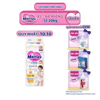 Tã/bỉm dán Merries size XL – 44 miếng (Cho bé 12 – 20 kg)