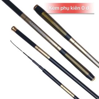 [Mã FAMAYMA2 giảm 10K đơn 50K] Cần cây tay, cần đơn Shimano 5h 3m6-6m3. Cần cuốn chỉ 5h. Cần câu tay shimano, cần tay.
