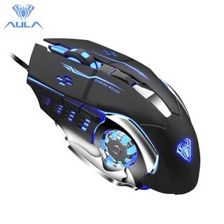 Chuột Gaming AULA S20 cổng USB có đèn