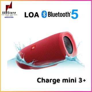 Loa Bluetooth 5.0 Charge Mini 3+, Âm thanh hay,Cắm được USB và khe cắm thẻ nhớ, chống nước tốt