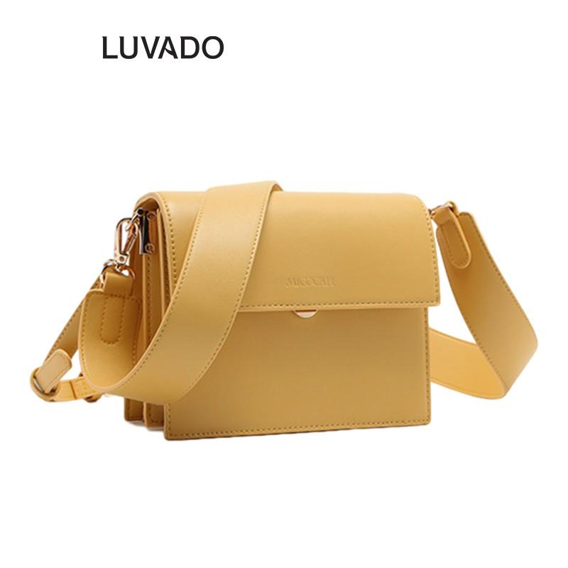 Túi đeo chéo nữ nhỏ MICOCAH đi chơi dễ thương nhiều ngăn LUVADO TX489