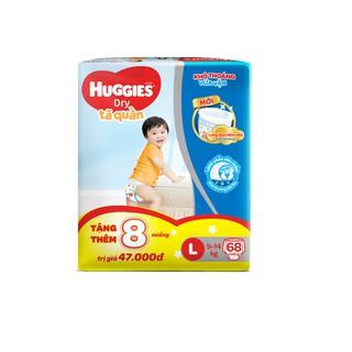 Hình ảnh [Nhập MKBMHUG8P giảm 5% đơn từ 499K] [Tặng 8 miếng tã quần Huggies] Tã quần Huggies Pant Super Jumbo M74/L68/XL62/XXL56-1