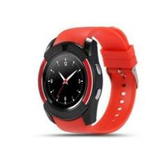 Đồng hồ thông minh măt tròn cho trẻ đi học có khe sim ZV88 nghe gọi 2 chiều(đỏ đô)