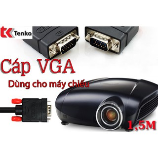 [Mã ELFLASH5 giảm 20K đơn 50K] Cáp VGA 1,5m chính hãng UNITEK Y-C503A