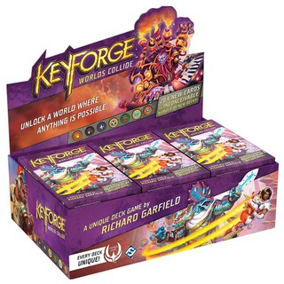 [Board Game] Trò chơi thẻ bài Keyforge: Worlds Collide