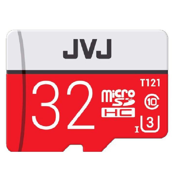 Combo 2 Thẻ nhớ 32Gb JVJ Pro U3 Class 10 – Chính hãng chuyên dụng camera, tốc độ cao