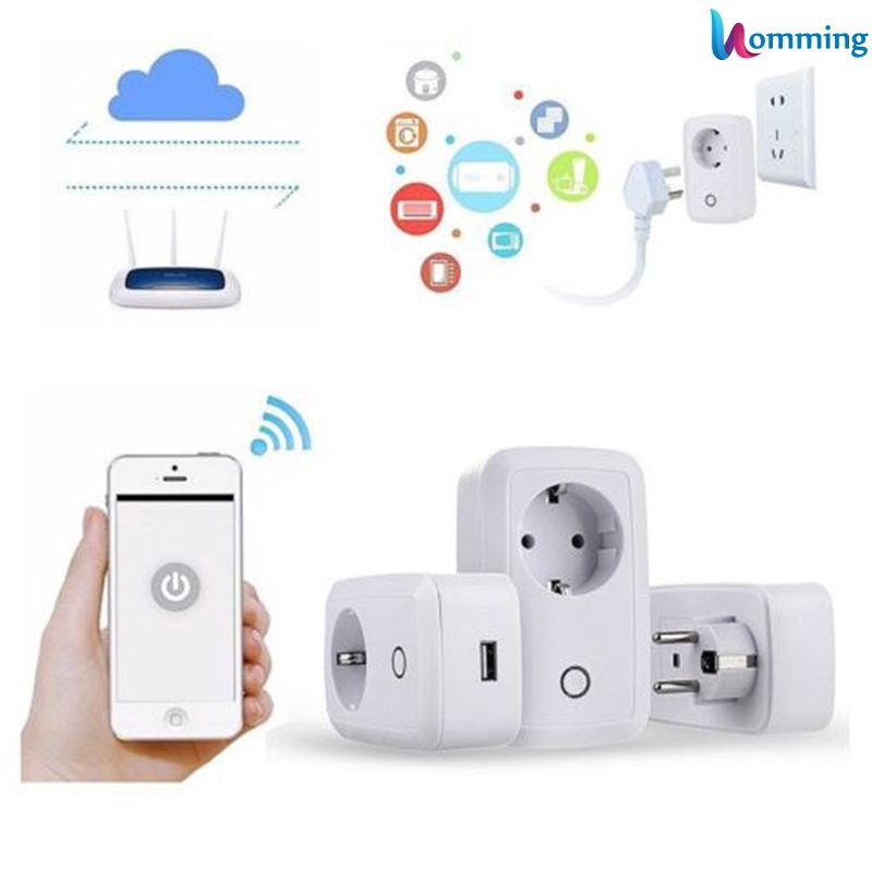 New Wireless WIFI Remote Control Socket Smart Timer Plug by