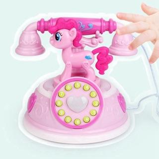 Đồ chơi âm nhạc điện thoại hình ngựa con dễ thương (ko kèm theo pin)