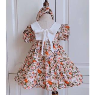 Váy cho bé gái💕𝑭𝑹𝑬𝑬𝑺𝑯𝑰𝑷+ TẶNG TURBAN💕váy đầm bé gái, váy hè cho bé gái, váy công chúa bé gái cực xinh