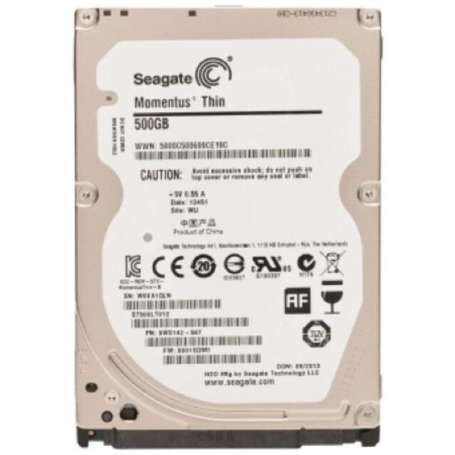 [SALE 10%] Ổ cứng laptop HDD 500Gb Seagate ATA chính hãng