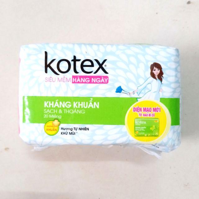 Bịch 8 Goi Băng Vệ Sinh Hang Ngay Kotex 20 Miếng Shopee Việt Nam