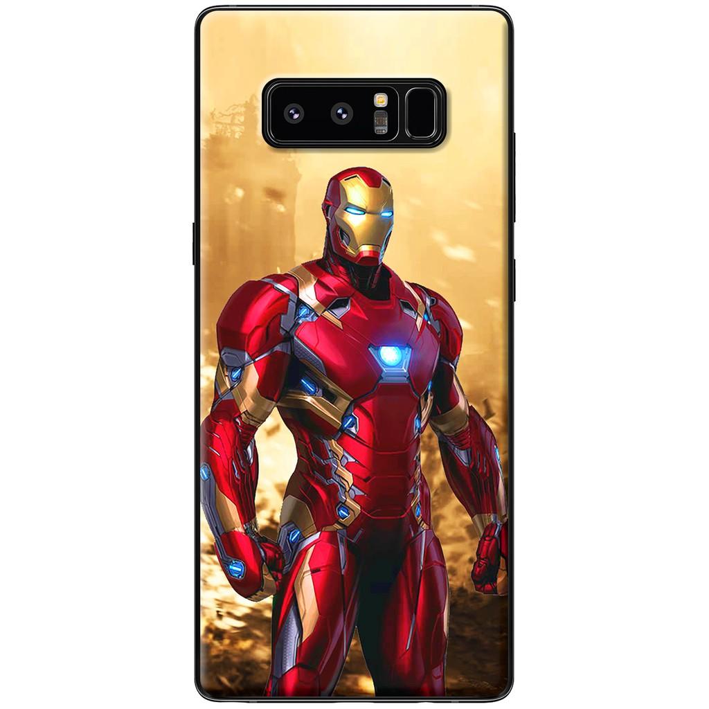 Ốp lưng Samsung Note 8 - Nhựa dẻo Ironman