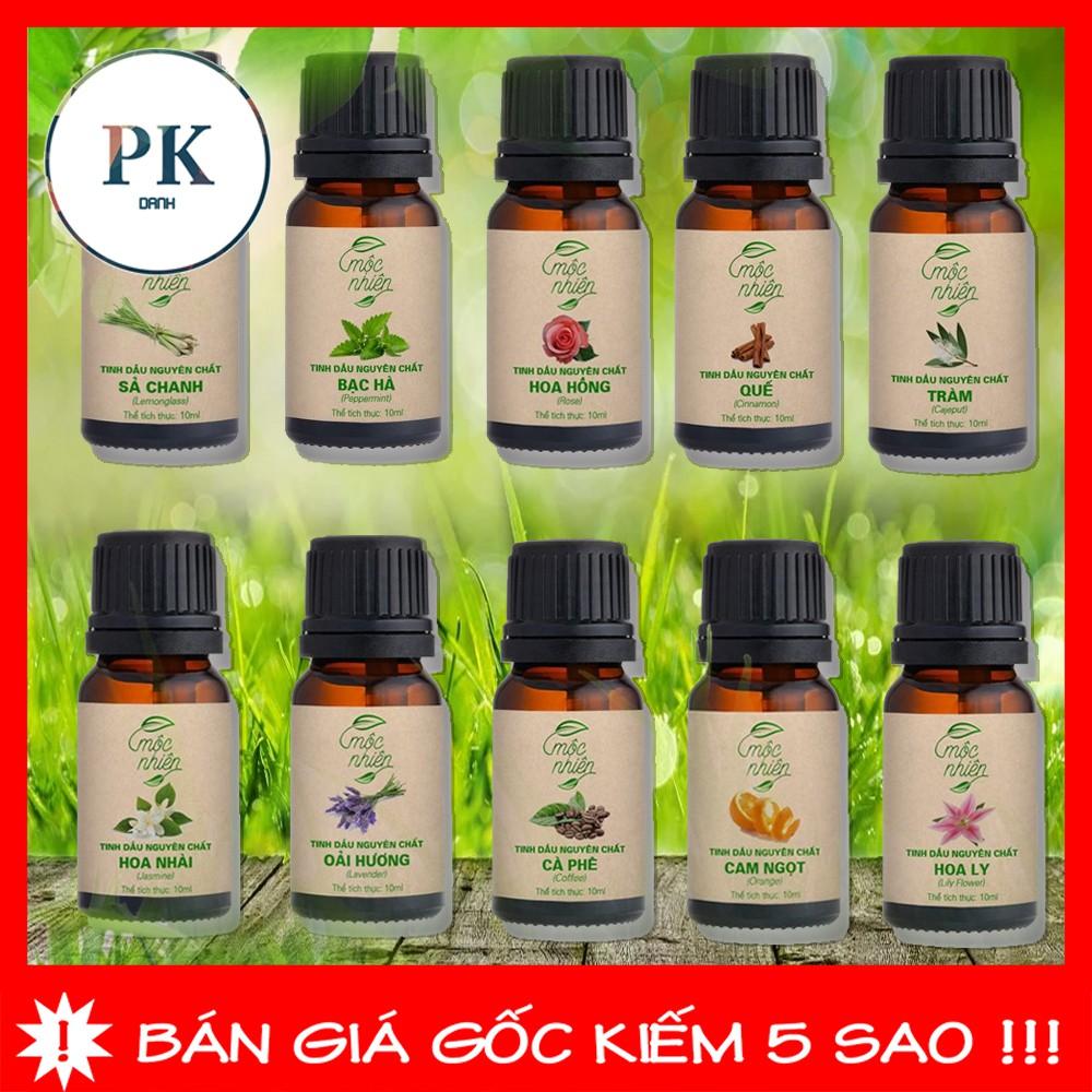 Tinh dầu Mộc Nhiên nguyên chất có kiểm định nhiều mùi 10ml
