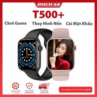 Đồng Hồ Thông Minh T500+ Plus seri 6 Tràn Viền 44mm Tiếng Việt Nghe gọi Bluetooth 5.0 44mm , bảo hành 1 năm,lỗi 1 đ thumbnail