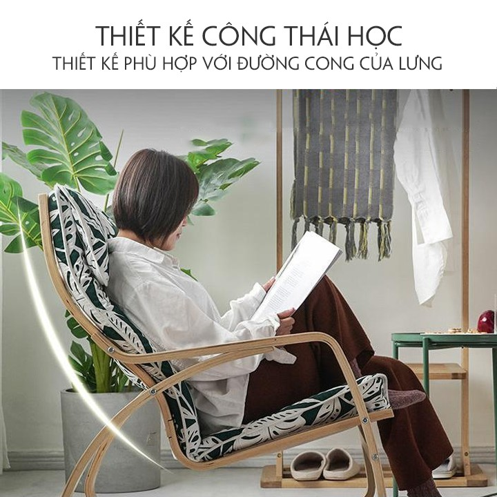 Đệm ghế poang, nệm cho ghế thư giãn đọc báo