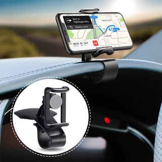 Car Phone Holder,Rotating Dashboard Clip Mount Stand, 360-Degree Rotation Cell Phone Holder,IN STOCK