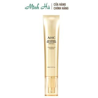 Kem dưỡng mắt AHC Age Defense Real Eye For Face Cream cấp ẩm , giảm nếp nhăn , chống lão hóa