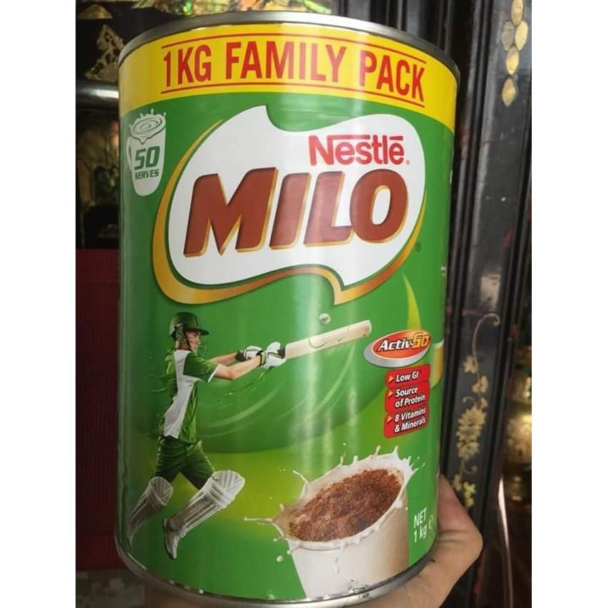 MiloSữa Milo Úc khác hẳn với các sản phẩm Milo sản xuất ở Việt Nam bởi hương vị thơm ngon cùng với hàm lượng dinh dưỡng.