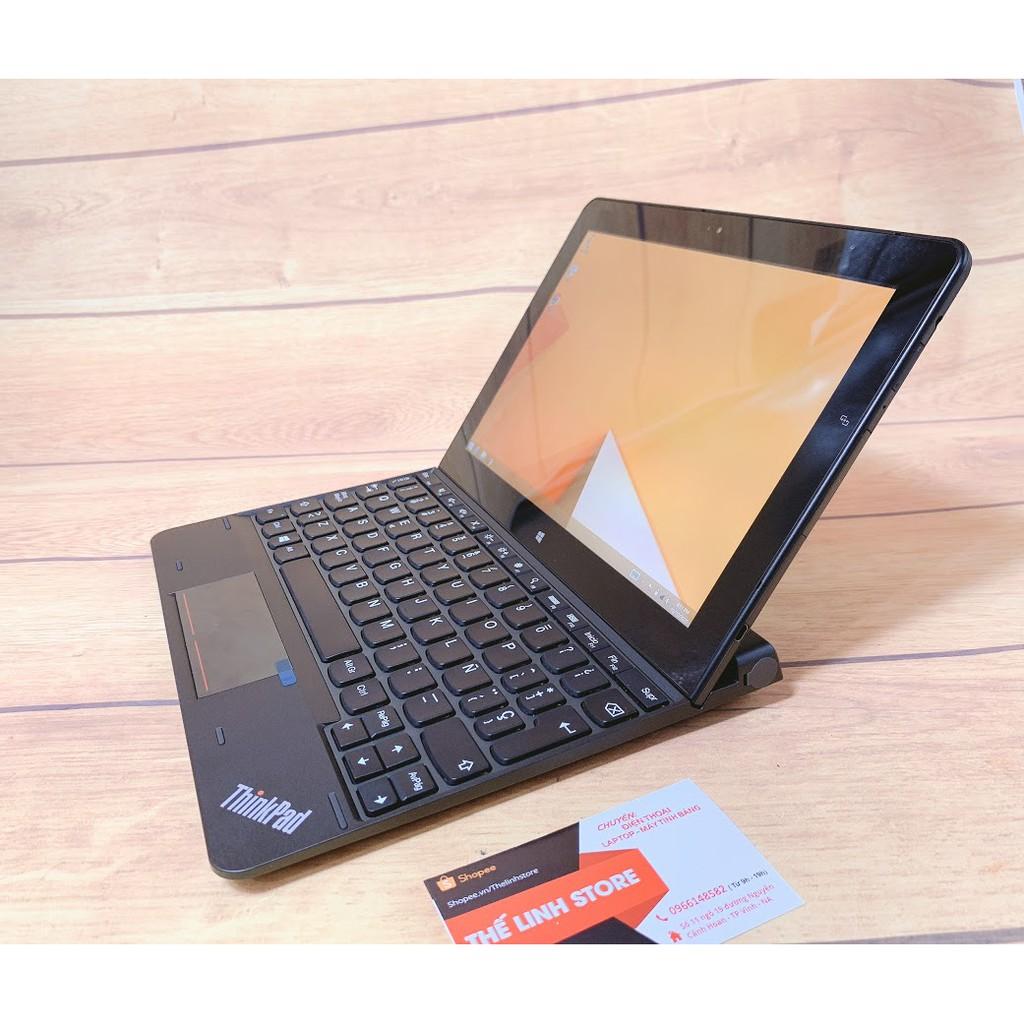 Laptop 2 trong 1 Lenovo Thinkpad 10 - Atom Z3795 64G Window 8.1 Pro