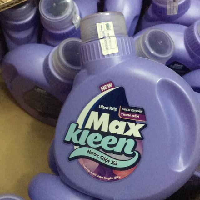 Nước giặt xả max kleen 120g
