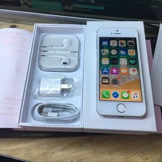 Điện thoại apple iphone 5s quốc tế 16gb. Hàng chính hãng – máy cũ đẹp 98 – 99% ko vết xước. Bảo hành 12 tháng.